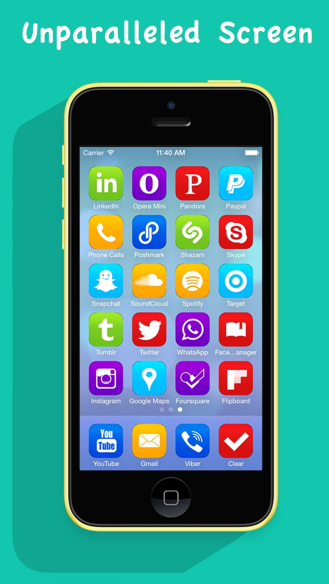 Screenshot for Customize My Screen Pro in United States App Store