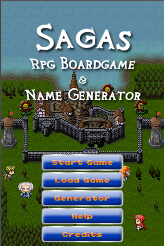 Sagas : RPG Boardgame and Name Generator | App Price
