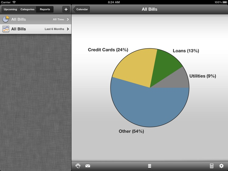 BillMinder for iPad - Bill Reminder and Organizer screenshot-4