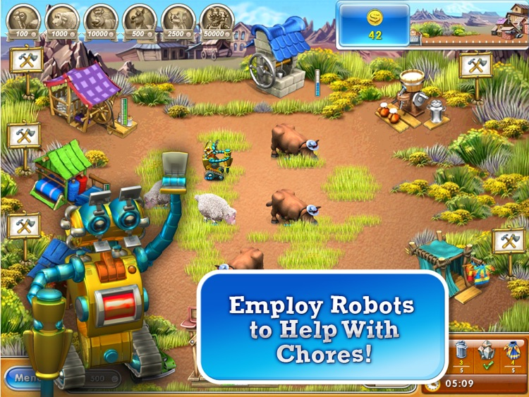 Farm Frenzy 3 – American Pie HD (Free) screenshot-3