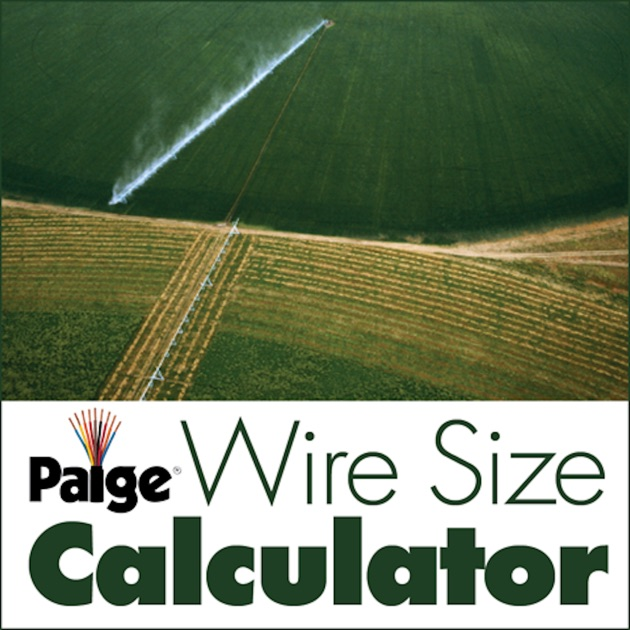 Paige agwire wire size calculator on the app store greentooth Image collections