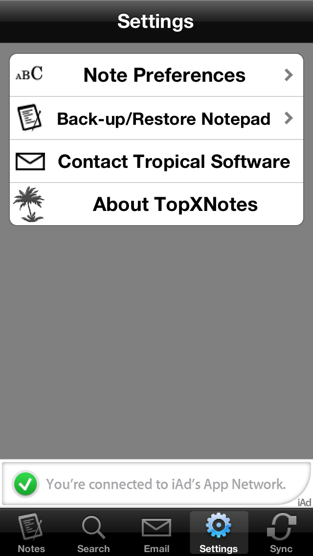 TopXNotes Free screenshot two