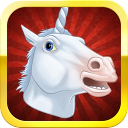 Unicorning Horse Booth - FREE Photo Booth with Instagram and Facebook Ready Frames to Share with Friends
