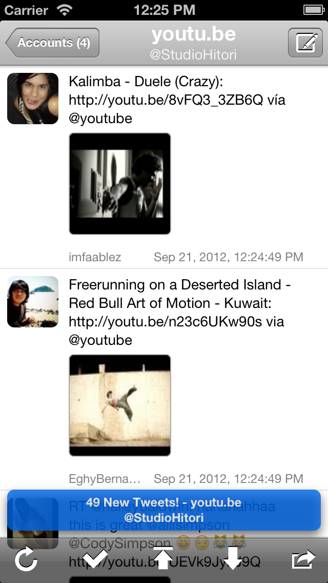 Screenshot #2 pour TwitRocker2 Lite for iPhone - la prochaine génération de client twitter