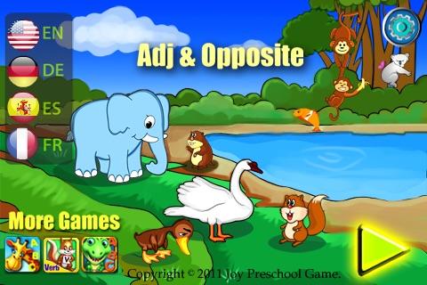 Adj & Opposite: Active Words