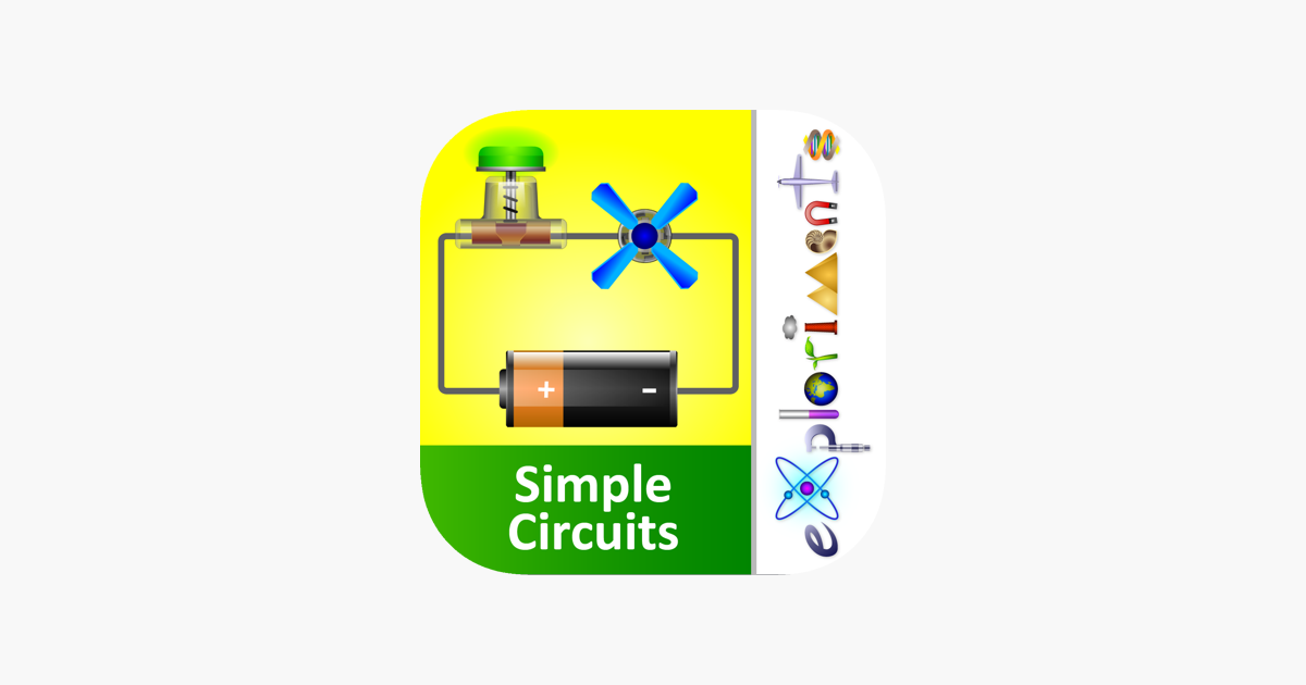 exploriments electricity simple electrical circuits in seriesexploriments electricity simple electrical circuits in series, parallel and combination on the app store