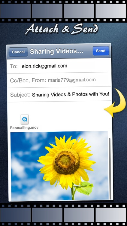Video Email (+ Photos) : Videos & Multiple Photo Sharing through Email screenshot-4