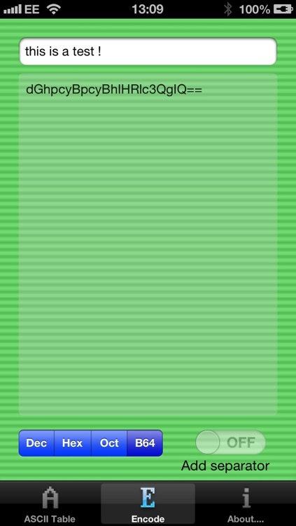 Binary Table Free screenshot-4