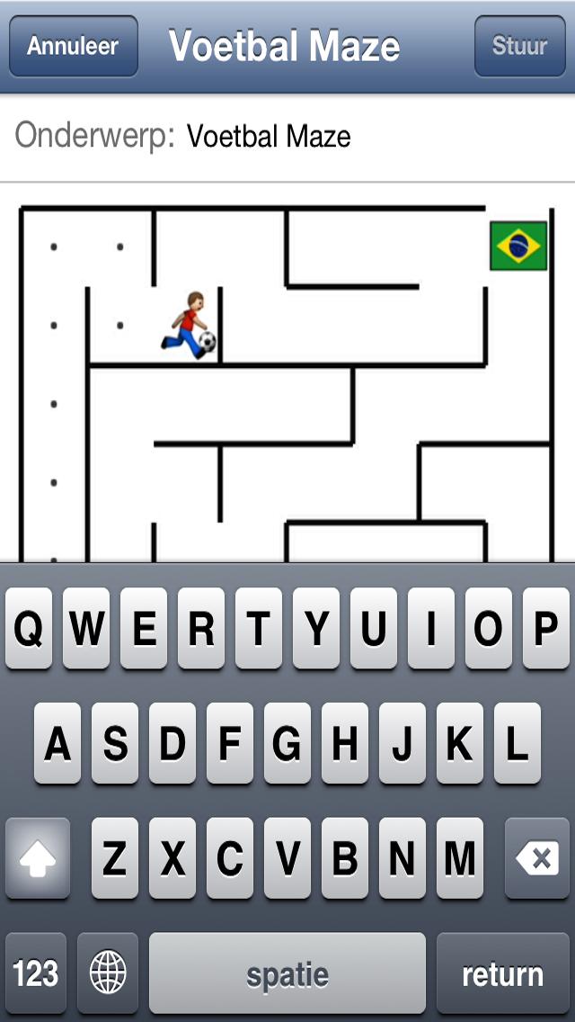 Soccer Maze screenshot four