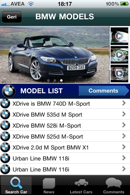 Car Models screenshot-1