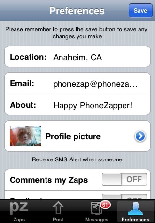 PhoneZap screenshot-3
