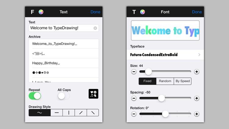 TypeDrawing screenshot-3