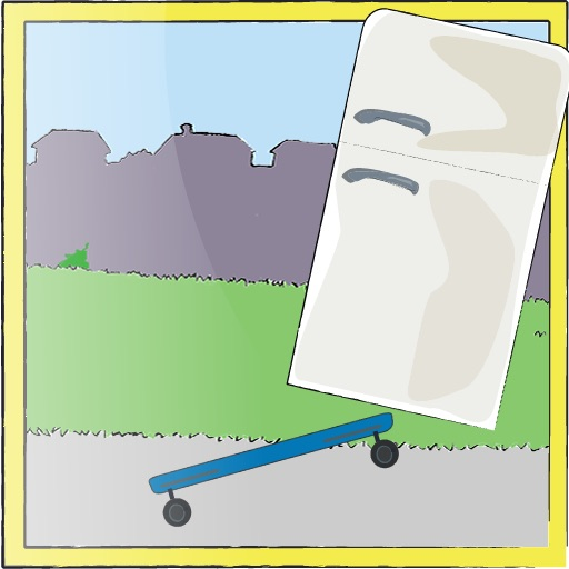 Downhill Fridge Challenge