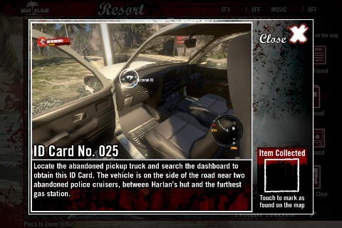 Official Dead Island Map App screenshot-2