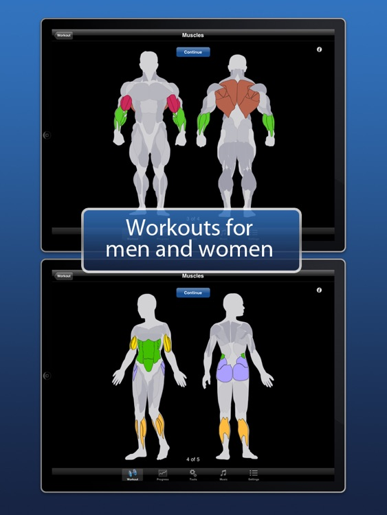 iPersonalTrainer HD screenshot-3