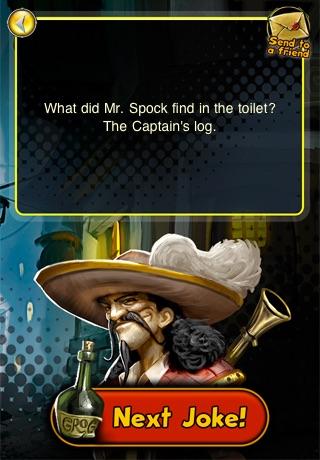 Pirates of Black Cove: 1001 Pirate Jokes screenshot-3
