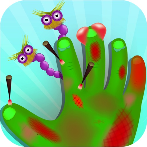 Monster Hand and Nail Doctor - Nail and hand surgery, kids free Game For fun