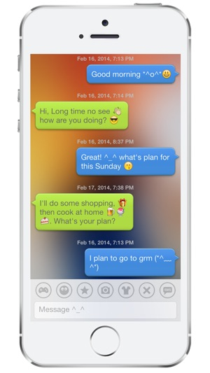 Bubble Emoji 3 – chat with emoticon smiley face in emoji keyboard