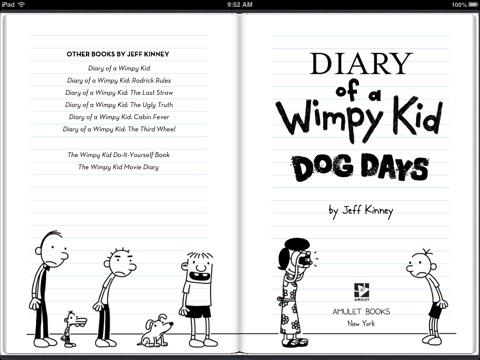 Dog days by jeff kinney on ibooks screenshot 1 solutioingenieria Images