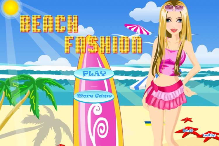 Beach Fashion Lite - Dress up and Makeup Game