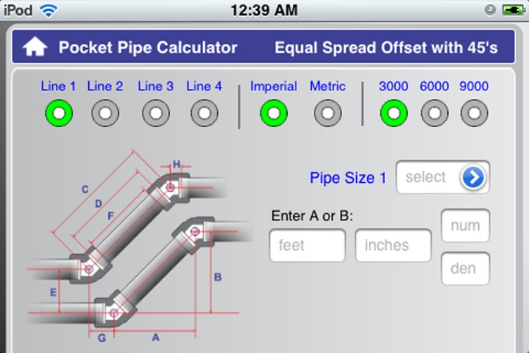 Socket Pipe Calculator screenshot-3
