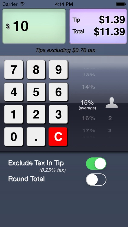 Tipper - Free Tip Calculator