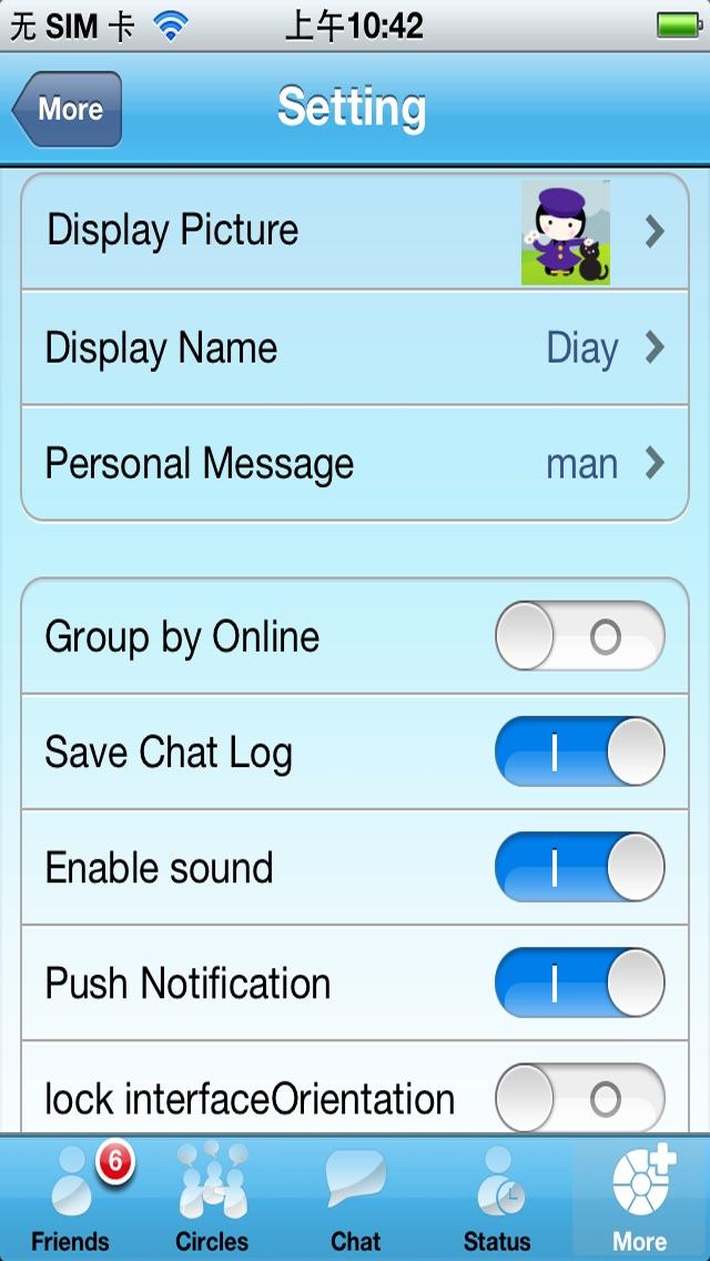 Live Messenger Pro Screenshot 3