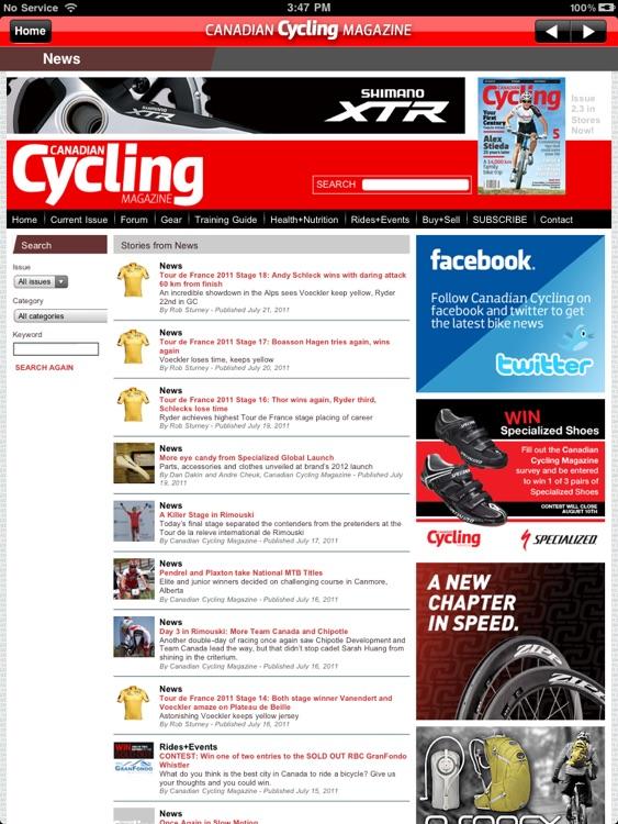 Cycling Magazine screenshot-3