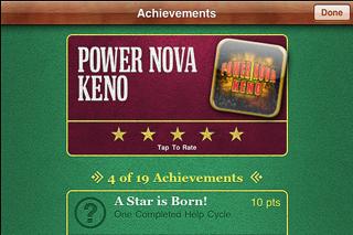 Power Nova Keno screenshot four