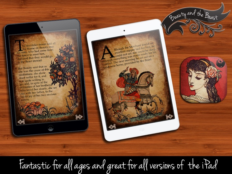 Beauty and the Beast - Interactive Bedtime Storybook screenshot-2