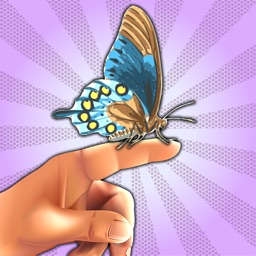 Butterfly Fingers! with Augmented Reality