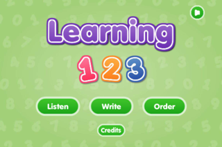 Learning 123 screenshot one