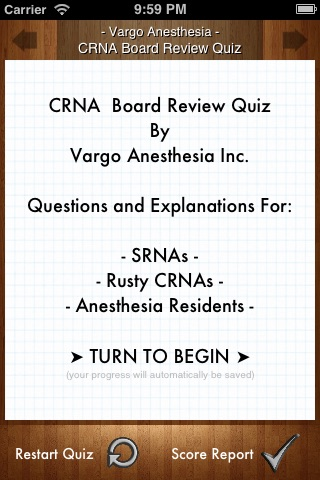 CRNA Board Review