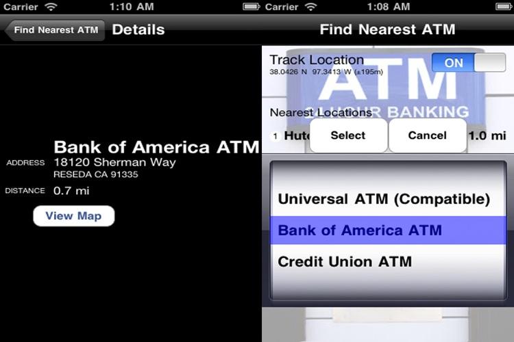 Find Nearest ATM