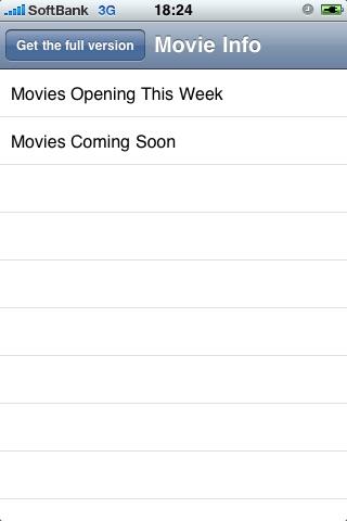 Movie Information Lite