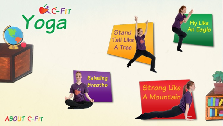 C-Fit Yoga - Classroom Fitness screenshot-0