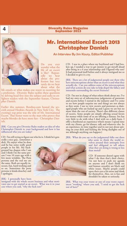 Diversity Rules Magazine: Queer community life publication screenshot-4