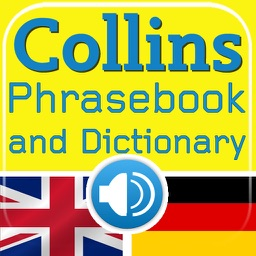 Collins English<->German Phrasebook & Dictionary with Audio