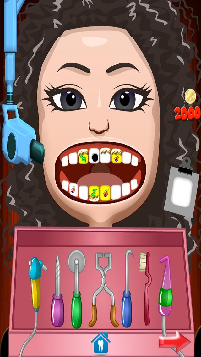Celebrity Dentist Office Teeth Dress Up Game - Fun Free Nurse Makeover Games for Kids, Girls, Boysのおすすめ画像4