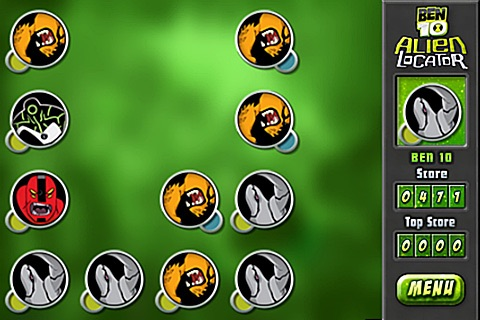 Ben10 Alien Locator Lite screenshot-2