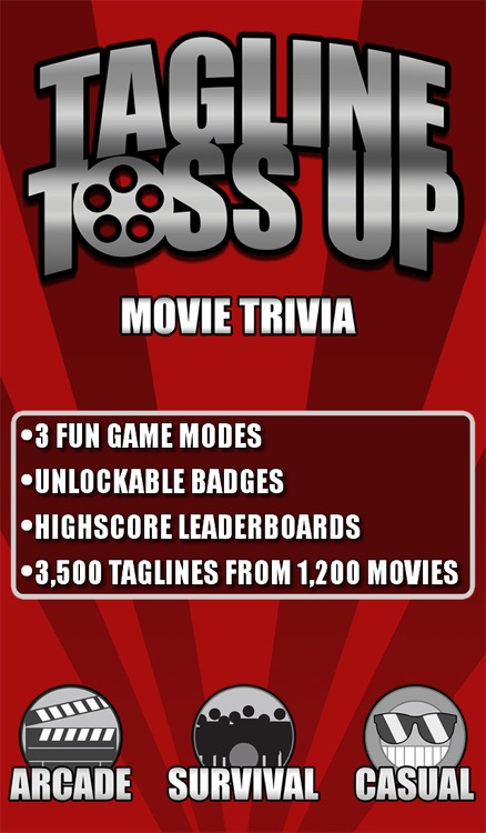 Tagline Toss Up: Movie Trivia
