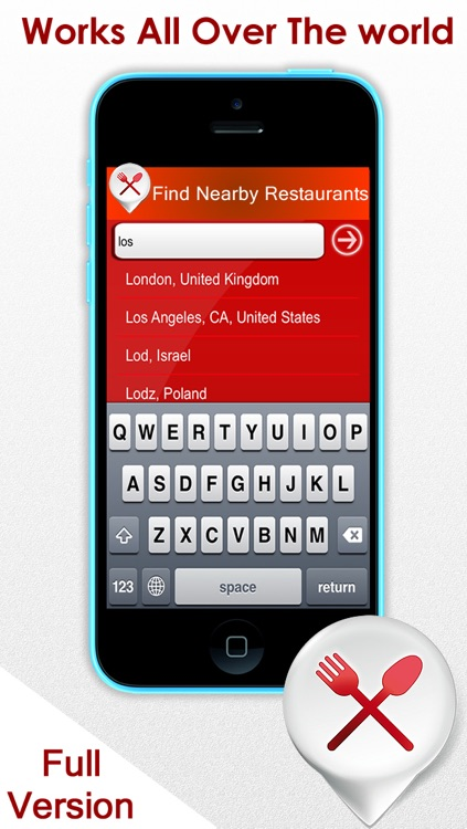 Nearby restaurants finder - Find where the best places to eat near my current location and more