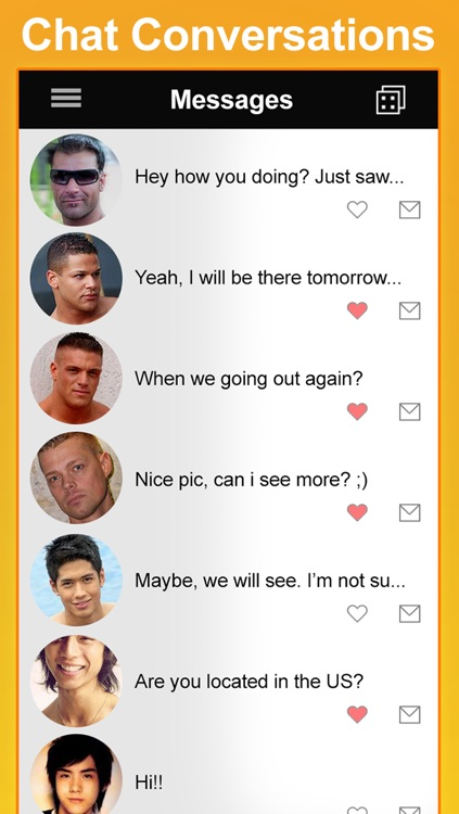 Pride - Gay, same sex, bi, social network to chat and meet guys