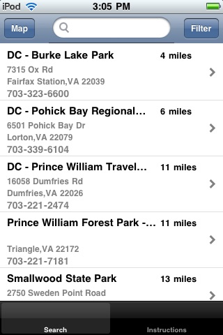 Campground Locator
