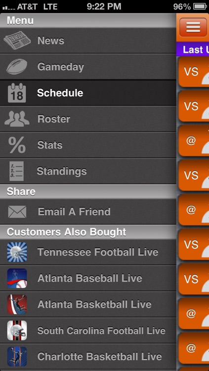 Clemson Football Live screenshot-1