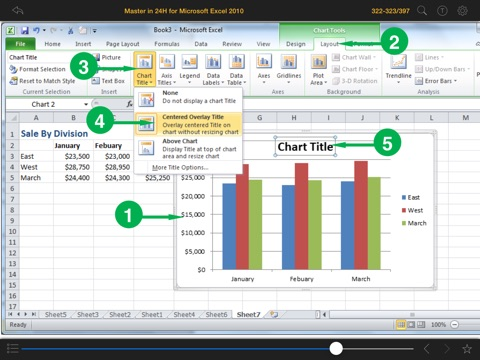 Screenshot #6 pour Master in 24H™ for Microsoft® Excel® 2010
