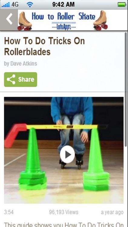 InfoAppz - How to Roller Skate screenshot-3
