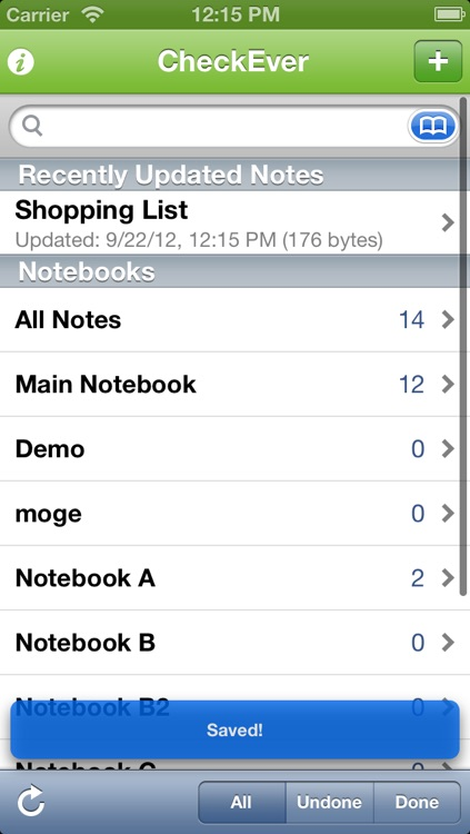 CheckEver for Evernote screenshot-4