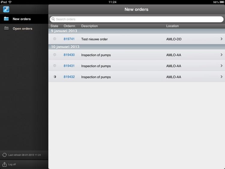 Asset Management Mobile