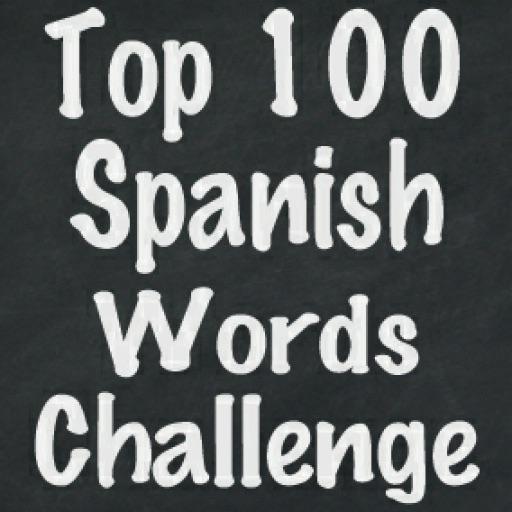 Top 100 Spanish Words Challenge Flash Cards Quiz Game